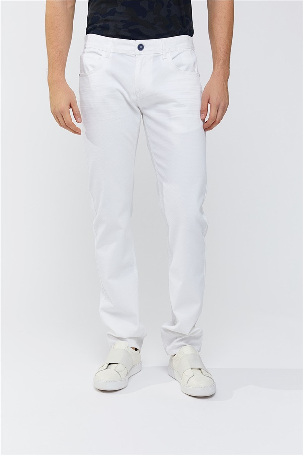 5 Cepli Armürlü Slim Fit Pantolon