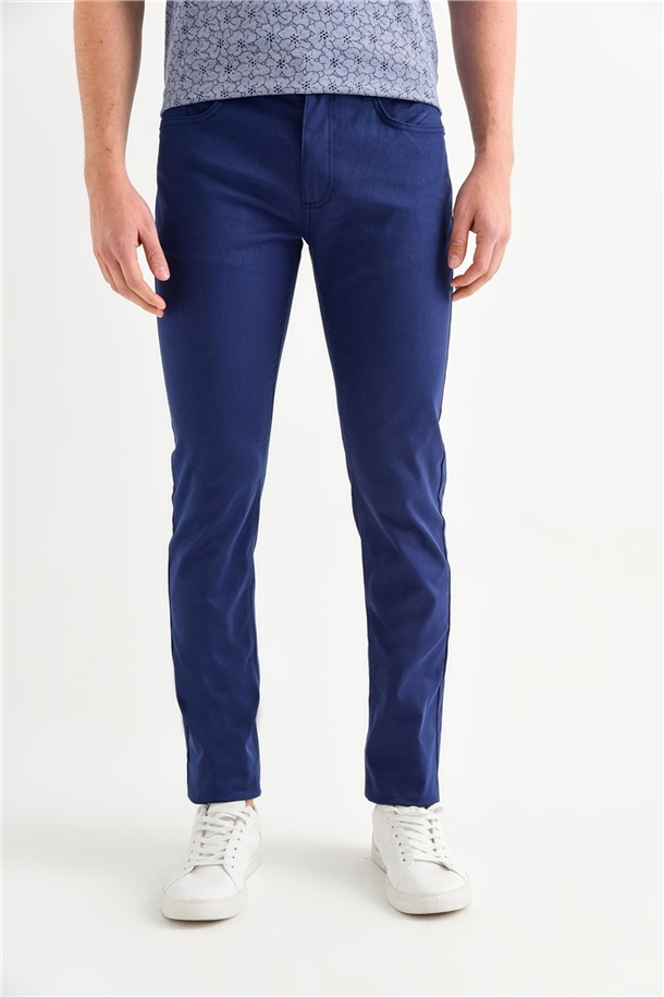 5 Cepli Basic Slim Fit Pantolon