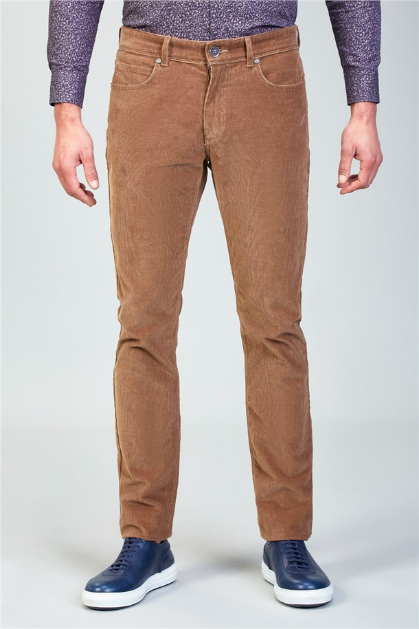 5 Cepli Kadife Slim Fit Pantolon